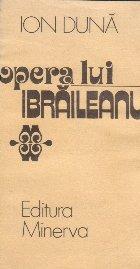 Opera lui Ibraileanu