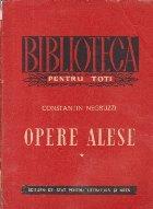 Opere alese Proza (Constantin Negruzzi)