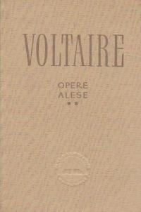 Opere alese, Volumul al II-lea (Voltaire)