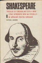 Opere complete Volumul Troilus Cresida