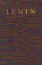 Opere Lenin Volumul 1900 1923