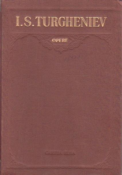 Opere, V - Nuvele si Povestiri (I. S. Turgheniev)