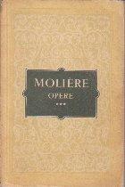 Opere, Volumul al III-lea (Moliere)