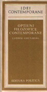 Optiuni filozofice contemporane