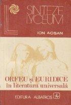 Orfeu Euridice literatura universala