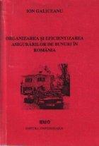 Organizarea eficientizarea asigurarilor bunuri Romania
