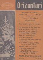 Orizonturi - Revista Pacii, Noiembrie 1959