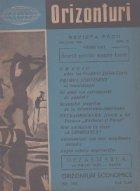 Orizonturi Revista Pacii Ianuarie 1960
