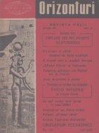 Orizonturi - Revista Pacii, Aprilie 1960