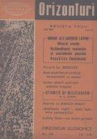 Orizonturi - Revista Pacii, Mai 1960