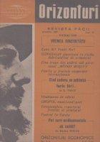 Orizonturi - Revista Pacii, Noiembrie 1960