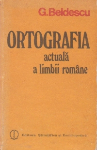 Ortografia actuala a limbii romane
