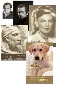 Pachet 5 carti Dan Puric: Cine suntem | Despre omul frumos | Fii demn! | Suflet romanesc | Dulci
