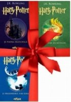 Pachet Harry Potter (volumele 1-3)