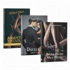 Pachet Intens 2 (3 romane): 1. Amantele trecutului, Ultimul zbor; 2. Ducele si jurnalista; 3. Bataile inimii mele frante
