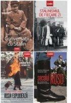 Pachet Istorie rusa 4 volume (Conversatii cu Stalin, Stalinismul de fiecare zi, Rusia explodeaza, Secolul rosu)