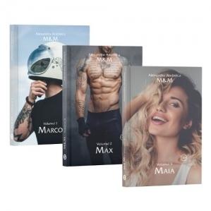 Pachet M&M (3 romane): 1. Marco, Volumul 1; 2. Max, Volumul 2; 3. Maia, Volumul 3