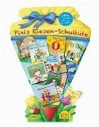 Pachet Pixi in limba germana pentru copii - Pixis Riesen-Schultute. 8 Pixi + 5 Lustige Sculanfangspiele