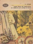 Pagini alese din insemnarile de calatorie prin Ardeal si Banat,  volumul al II-lea