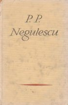 Pagini alese - P. P. Negulescu
