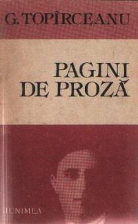 Pagini de proza - G. Topirceanu