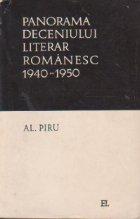 Panorama deceniului literar romanesc (1940-1950)