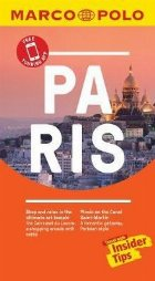 Paris Marco Polo Pocket Travel Guide 2019 - with pull out ma