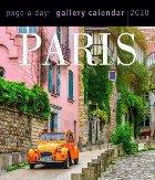 Paris Page Day Gallery Calendar