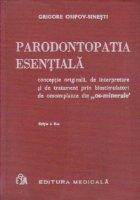 Parodontopatia esentiala conceptie originala interpretare
