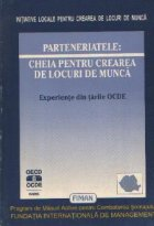 Parteneriatele: cheia pentru crearea de locuri de munca - Experiente din tarile OCDE