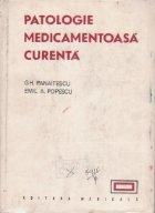 Patologie medicamentoasa curenta