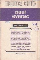 Paul Everac interpretat de...