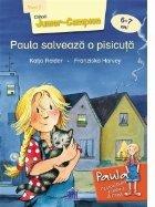 Paula salveaza o pisicuta. Nivel II - Cititorii Junior-Campion (6-7 ani)