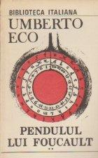 Pendulul lui Foucalt, Volumele I si II