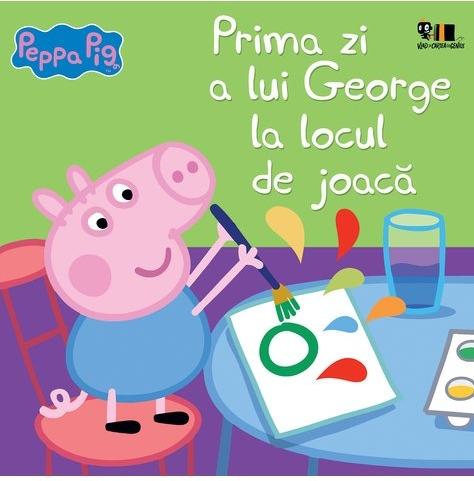 Peppa Pig: Prima zi a lui George la locul de joacă