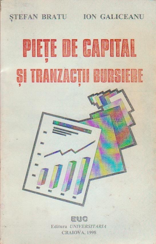 Piete de capital si Tranzactii Bursiere
