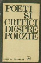 Poeti critici despre poezie