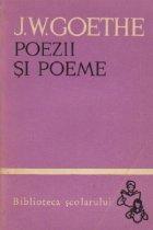 Poezii Poeme Volumul (Goethe)