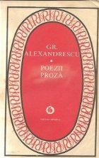 Poezii Proza Grigore Alexandrescu