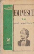 Poezii. Proza literara, Volumul al II-lea (Editie de Petru Cretia)