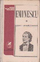 Poezii. Proza literara, Volumul I (Editie Petru Cretia)