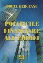 Politicile financiare ale firmei