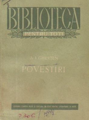 Povestiri - A. I. Ghertev