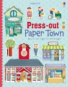 Press-out paper town