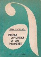 Prima ancheta a lui Maigret