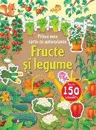 Prima mea carte cu autocolante. Fructe și legume