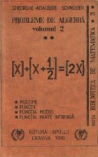 Probleme de algebra, Volumul al II-lea
