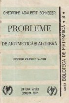 Probleme de aritmetica si algebra pentru clasele V-VIII