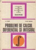 Probleme de calcul diferential si integral