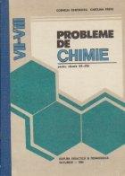 Probleme de chimie pentru clasele VII-VIII